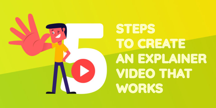5 steps for creating an explainer video that works