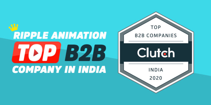 Ripple Animation Named Top B2B Company In India